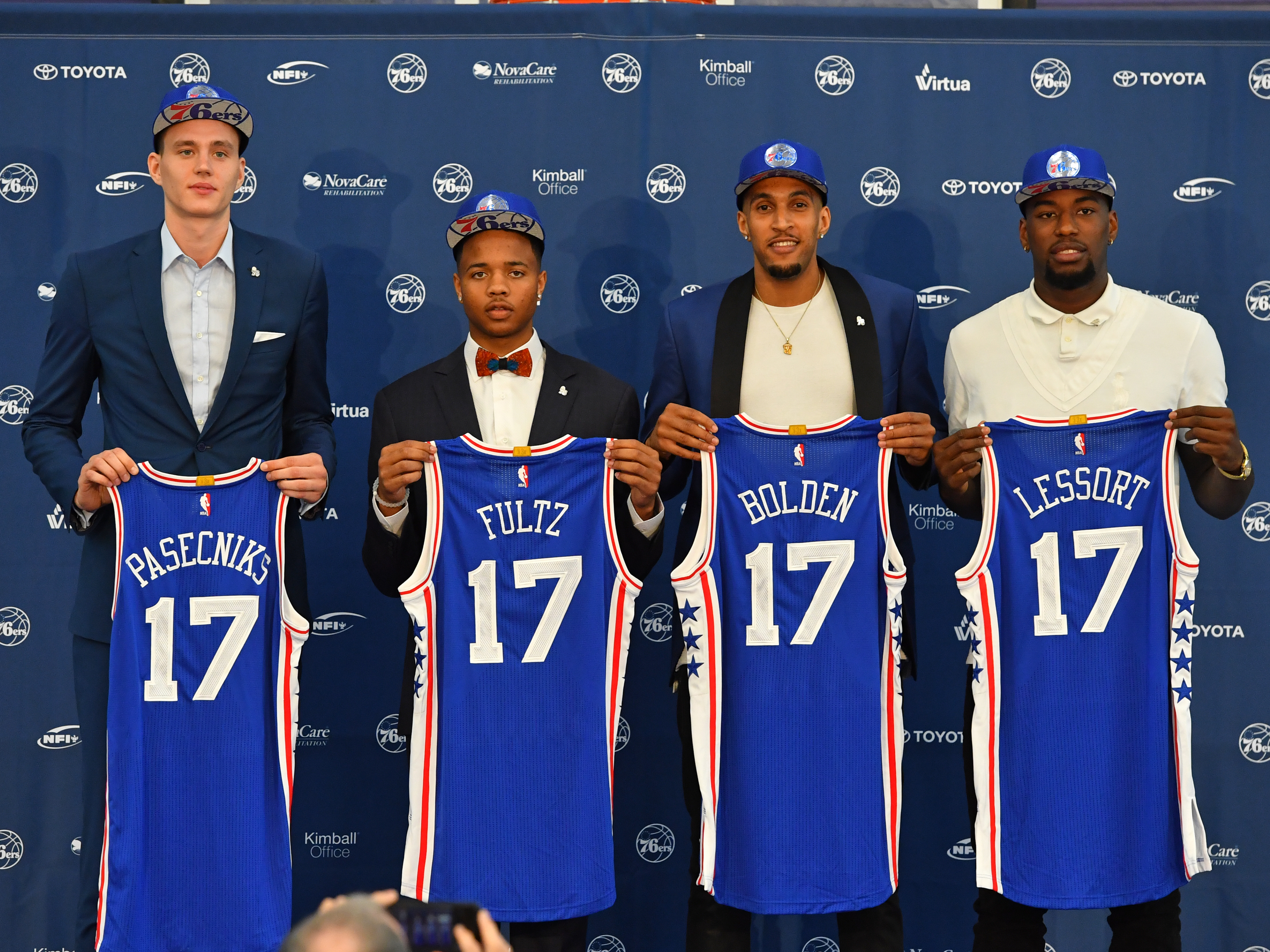 Which Philadelphia 76ers Players Not Assured 2017 2018 Roster Spots