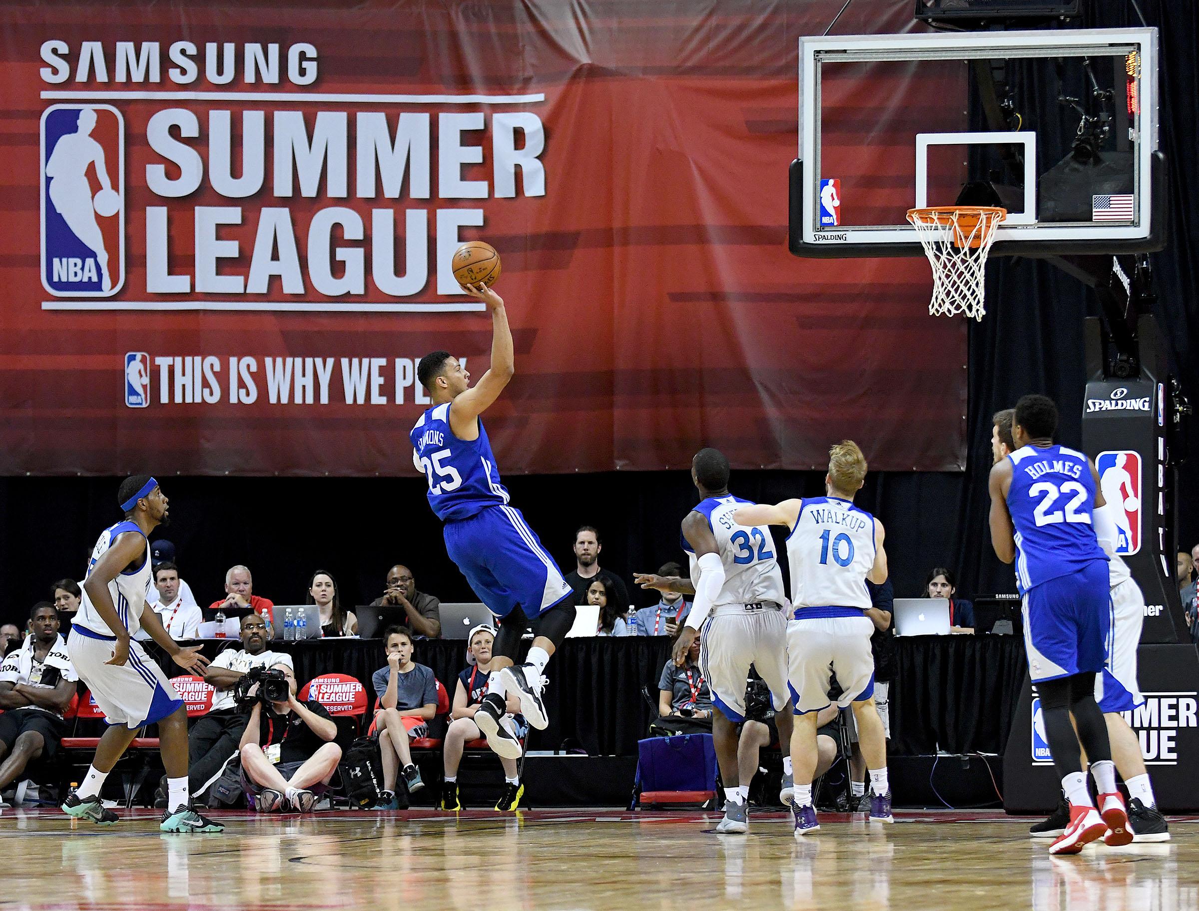 fd561a69dd2f Philadelphia 76ers Enter Epic NBA Summer League