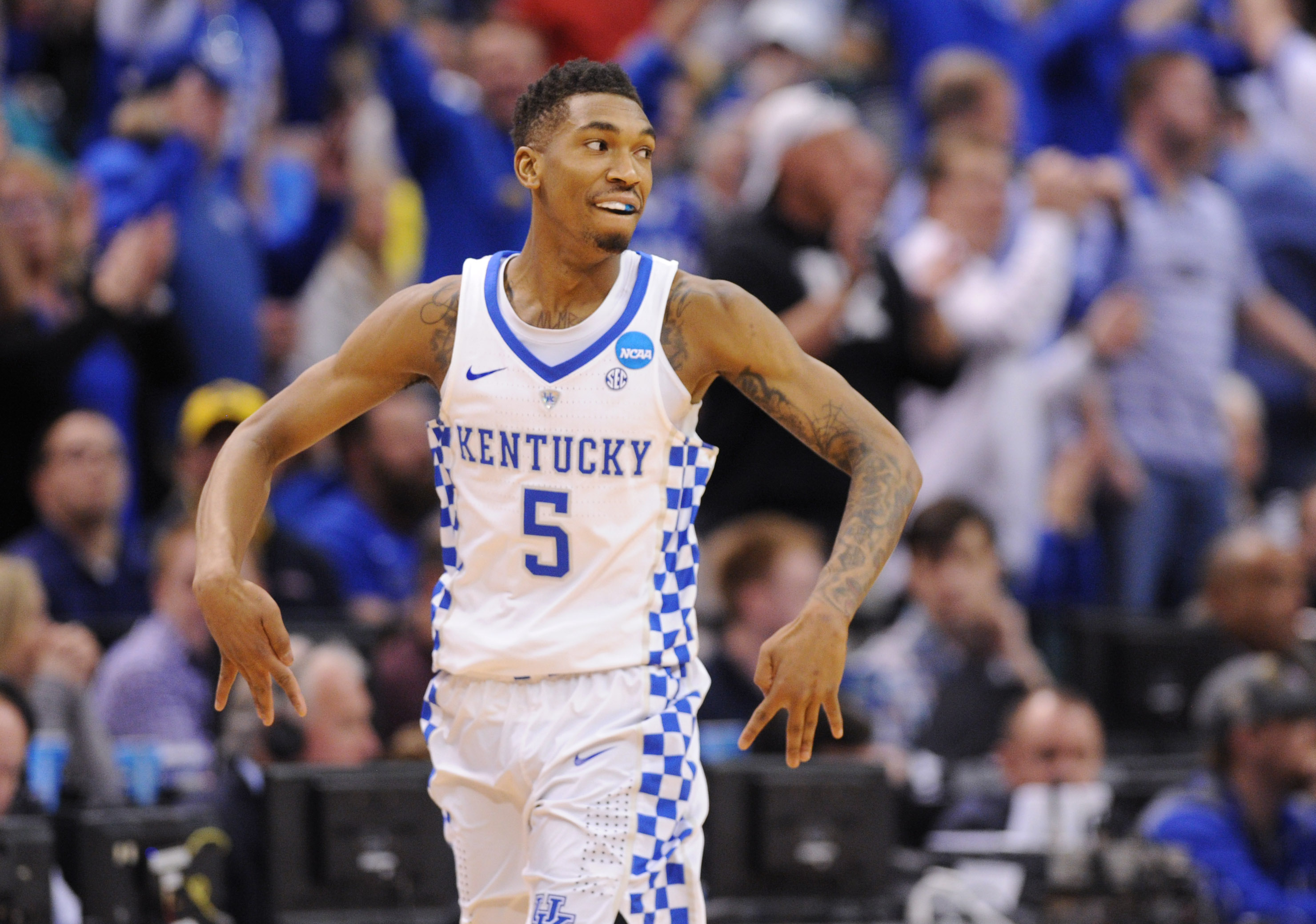Malik Monk And De Aaron Fox Usa Today All Americans: The Case For The Philadelphia 76ers To Draft Malik Monk At